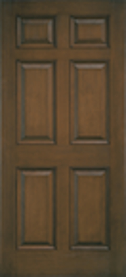Architect Series 6 Panel Entry Door